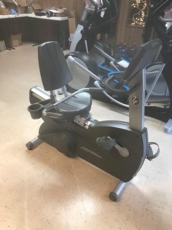 life fitness recumbent bike