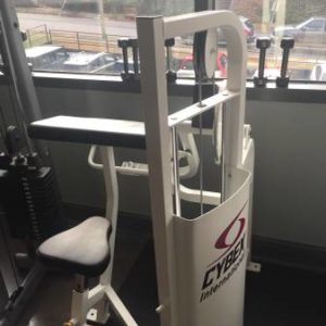 used cybex biceps curl