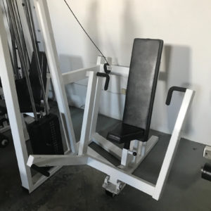 used legend chest press