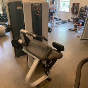 used precor triceps