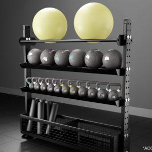 Throwdown XTR Ball Storage